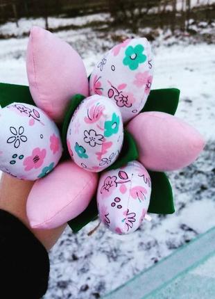 Декоративные цветы, букет тюльпанов, тюльпаны