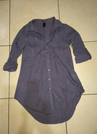 Платье рубашка от vila