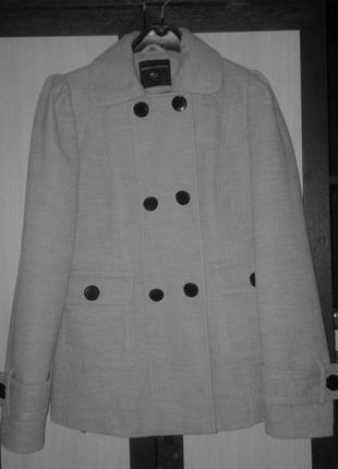 Серое пальто dorothy perkins