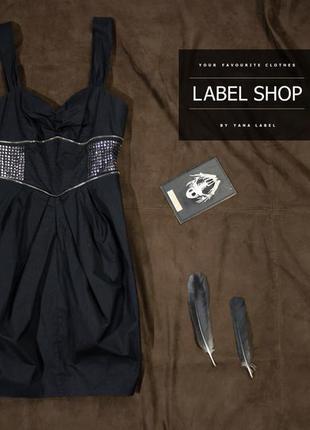 Черное платье / river island /