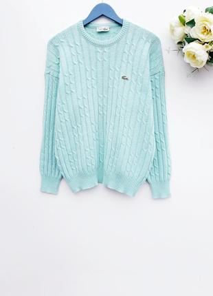 Брендовый свитер оверсайз тёплый свитер шестяная кофта