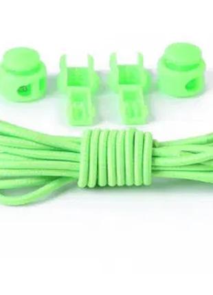 Эластичные шнурки с фиксатором 1м