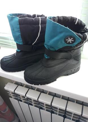Зимние термо сапоги ботинки сноубутсы doodogs