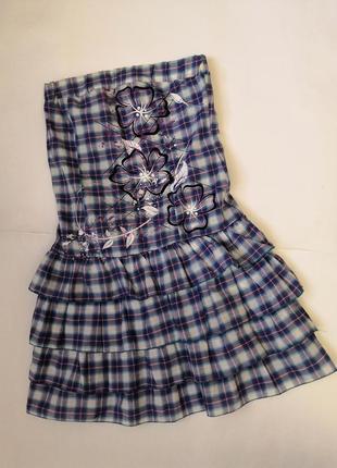 Платье без бретель, размер 44.