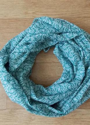 Красивый шарф natural trast