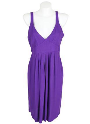 Фиолетовый сарафан