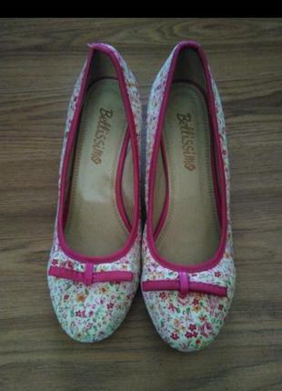 Туфли от bellissimo