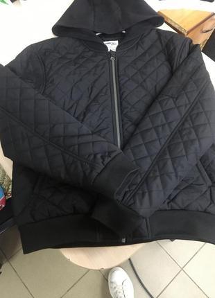 Куртка-бомпер з капюшоном pepperts