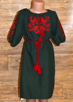 Вишиванка вышиванка платье с вішивкой  7-9 лет
