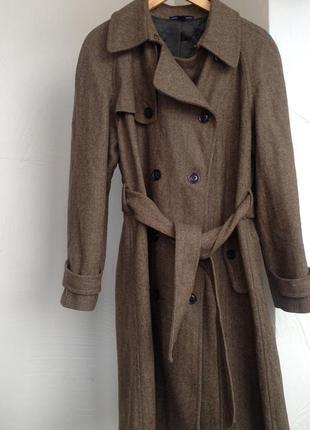 Шерстяное пальто gap, large