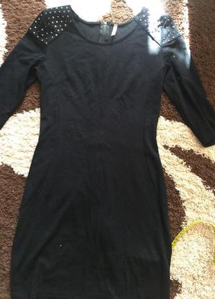Платье чёрной цвет