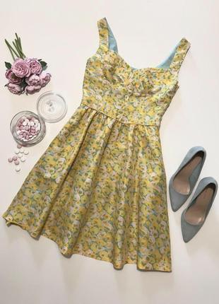 Великолепное платьице в стиле bebi dol от oasis (100% шёлк)