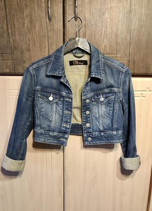 Джинсовая куртка от ltb