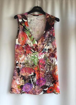 Брендовая блуза, летняя нарядная кофточка, kitte, италия
