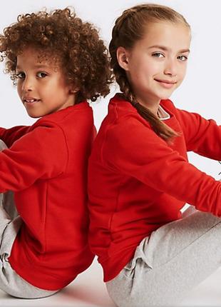 Школьный свитшот / толстовка мальчикам и девочкам school trends (англия), на выбор