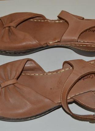 Босоножки сандали кожа mod comfys размер 42 (8) 43, босоніжки сандалі