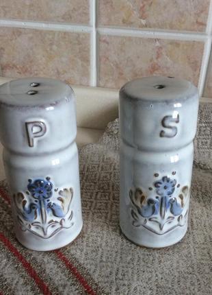 Керамический набор для соли и перца