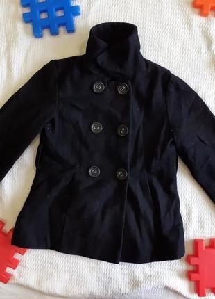 Пальто стильное прямое легкое деми демисезонное тонкое полупальто