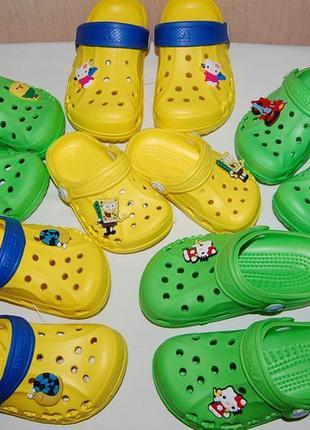 Новые сандалии, кроксы, шлепки vitaliya украина разные цвета и размеры