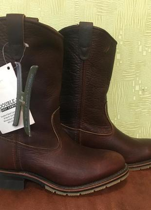 Ковбойские сапоги кожаные double-h boots