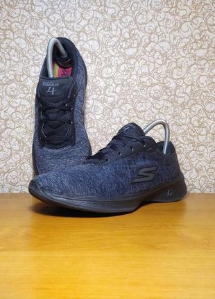 Спортивные кроссовки skechers gowalk 4 guick-fit оригинал размер 38