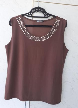 Блуза- майка 54 размер производство польша