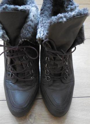 Ботиночки натуральная кожа 36р