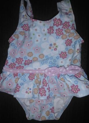 Купальник детский 3-6 месяцев