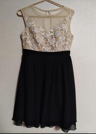 Нарядное платье р. 48