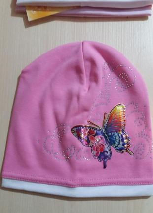 """Весенняя шапка для девочки """"аника"""""""