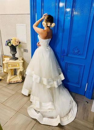 """Свадебное шикарное платье """"pronuptia groupe"""""""