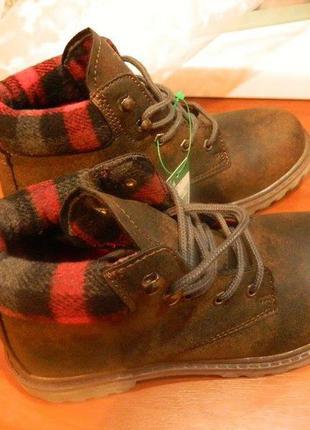 Удобные демисезонные ботинки