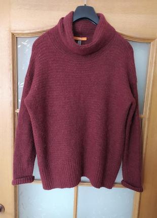 Мягкий лёгкий теплый свитер оверсайз от hugo boss,p. l