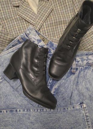 Ботинки gino ventori !натуральная кожа tex