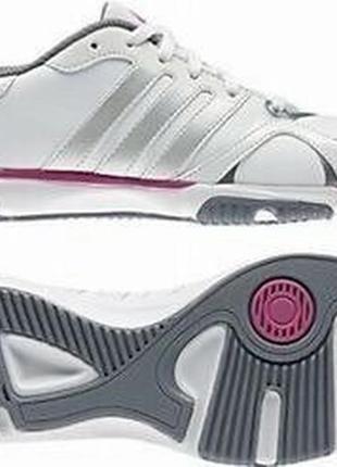 Кожаные фирменные кроссовки adidas essential star
