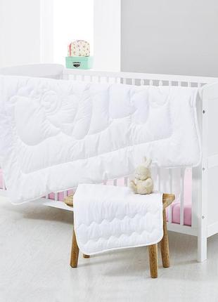 Одеяло и подушка для малыша tchibo тсм