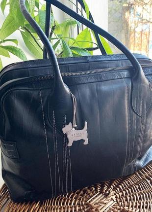 Большая фирменная кожаная сумка radley