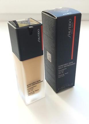 Тональный крем shiseido тон 210 birch