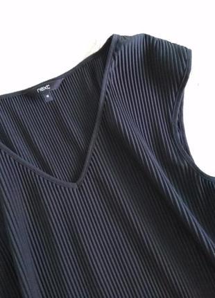 Next легкая блузка, майка гофрэ, туника, футболка