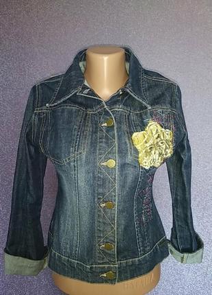 100%джинсова куртка.