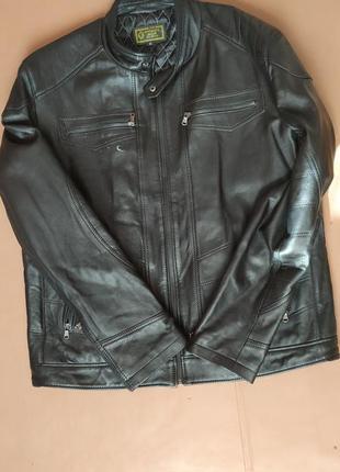 Кожаная мужская куртка. fashion cuir, specialiste en cuir.