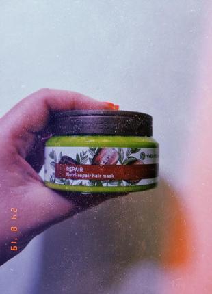 Маска для волос питание и восстановление