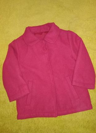 Демисезонное пальто, пальтишко, куртка 12-18 мес.