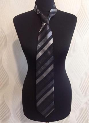 Шелковый галстук hugo boss black label #розвантажуюсь