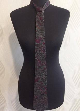 Шелковый галстук lanvin оригинал #розвантажуюсь