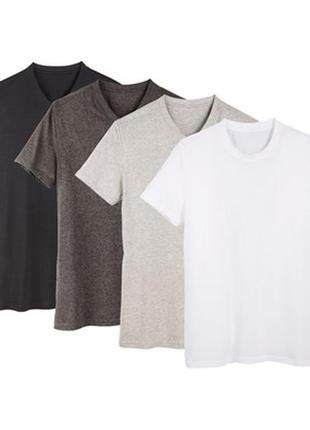 Набор 2 шт футболка мужская базовая- цвет на выбор