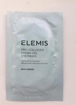 Лифтинг-патчи для контура глаз elemis pro-collagen hydra-gel eye masks 1шт