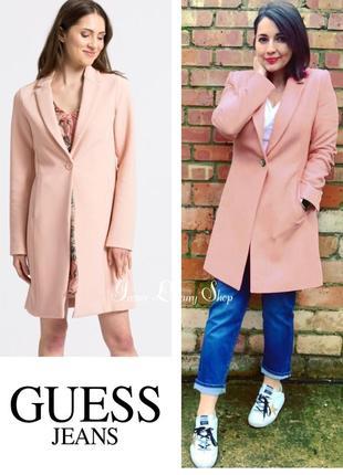 Sale пудровое пальто тренч пиджак от guess 46-48  оригинал