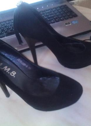 Туфли натуральная замша  бахрома