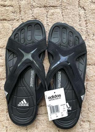 Мужские сланцы тапки adidas adipure slide